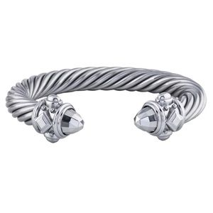 David Yurman Aluminum Renaissance Bracelet 10mm